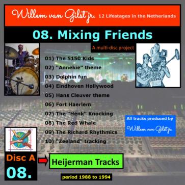 album 08. Mixing friends