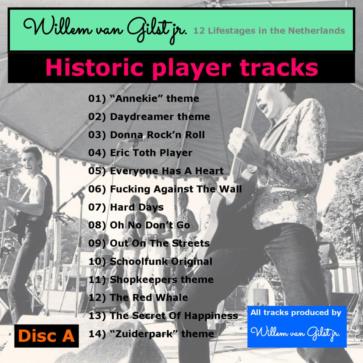 Historic player tracks